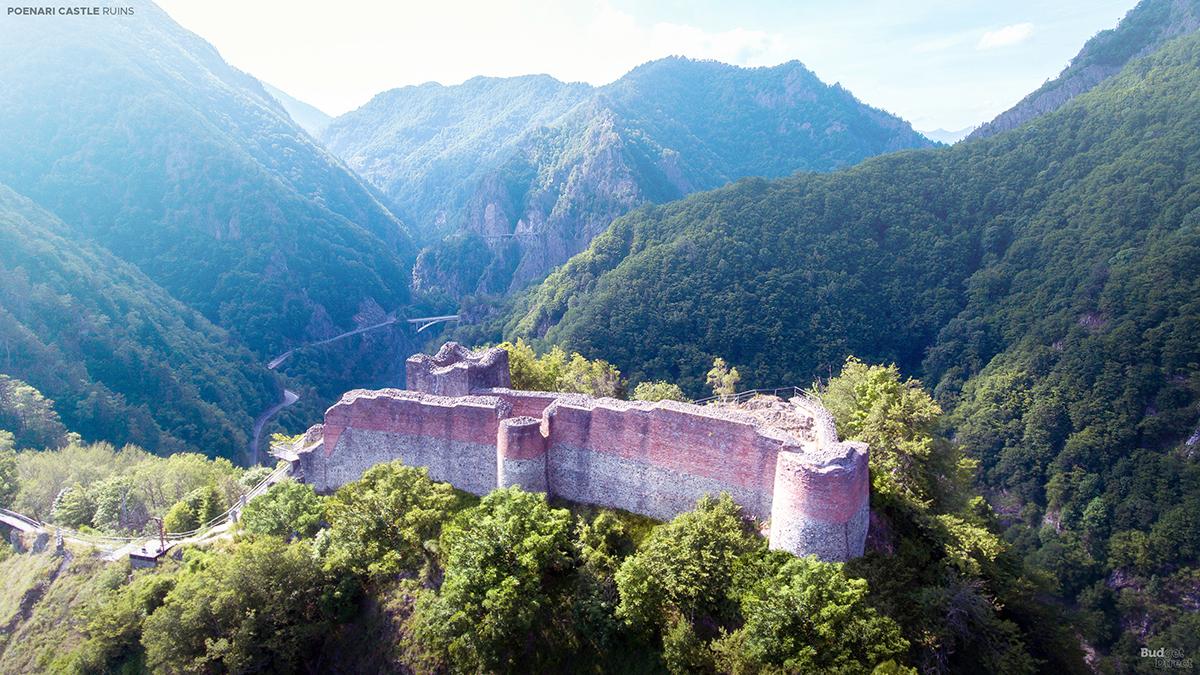 Castle Poenari before photo
